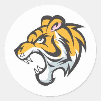 Tiger Cub Shirt | Cute Custom Tiger Cub Shirt Classic Round Sticker