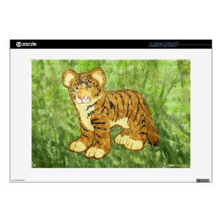 "Tiger Cub Skin For 15"" Laptop"