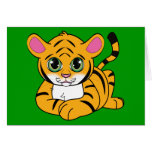 Tiger Cub Stationery Note Card