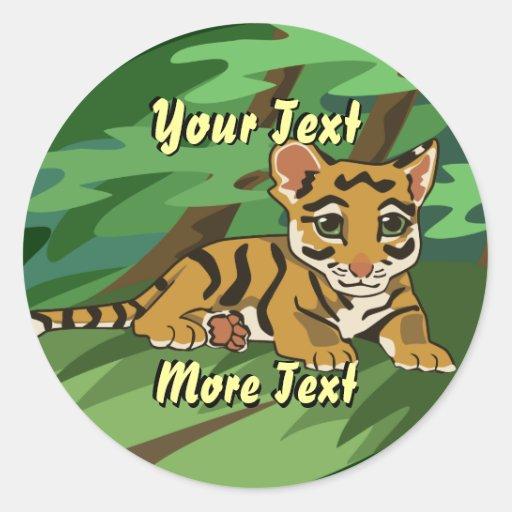 Tiger Cub Stickers