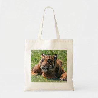 tiger cub tote bag