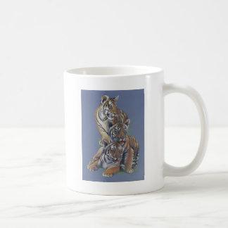 Tiger Cub Trio Coffee Mug