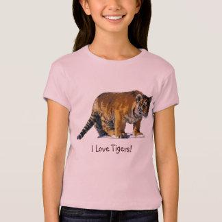Tiger Cub Wild-Cat Tiger Lover T-Shirt