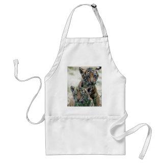 Tiger cubs adult apron
