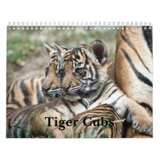 Tiger Cubs Calendar