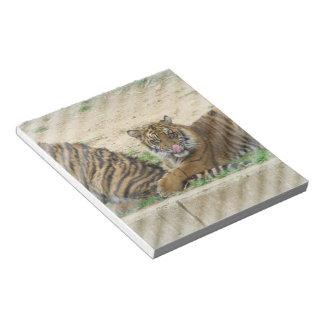 Tiger Cubs Notepad