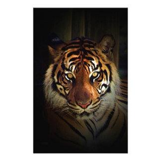 Tiger Customized Stationery