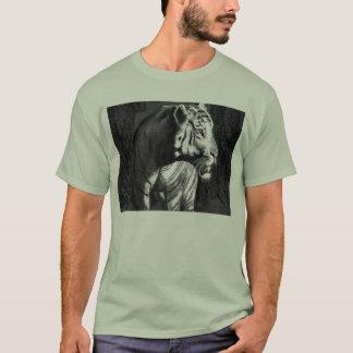 tiger dark light bw psp T-Shirt
