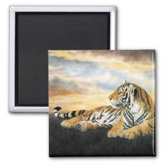 Tiger Dawn Magnet