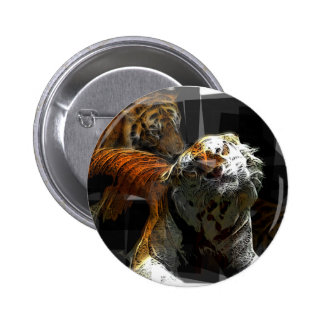 Tiger Delight Buttons