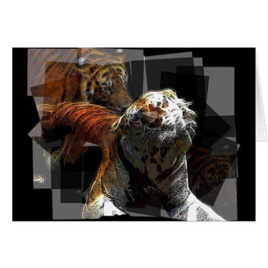 Tiger Delight Card