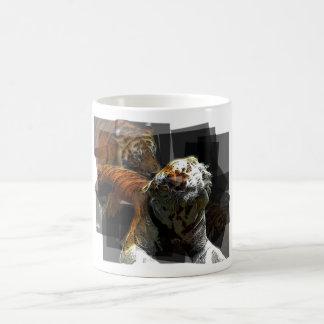 Tiger Delight Classic White Coffee Mug