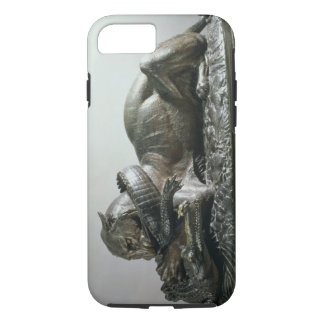 Tiger devouring an alligator, 1832 (bronze) iPhone 8/7 case