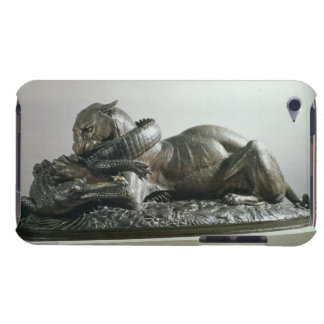 Tiger devouring an alligator, 1832 (bronze) iPod touch case