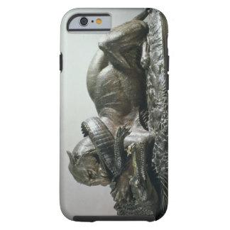 Tiger devouring an alligator, 1832 (bronze) tough iPhone 6 case