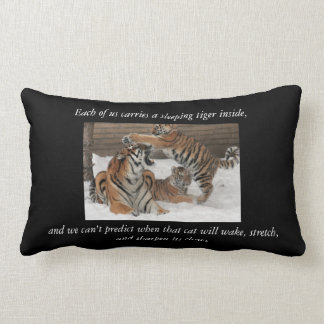 Tiger Double sided pillow