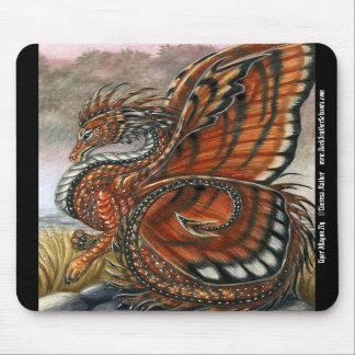 Tiger Dragon Fly Mousepad