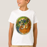 Tiger & Dragon Yin Yang T-Shirt