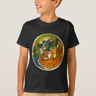 Tiger & Dragon Yin Yang T-Shirt
