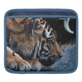 Tiger Drinking Wildlife Fantasy Art iPad Sleeve