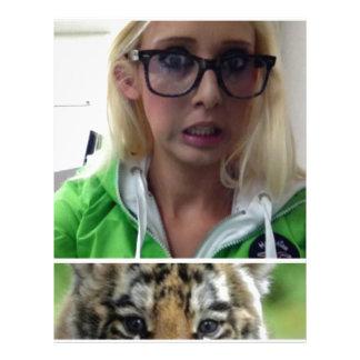 Tiger Eco Student Letterhead Template