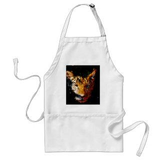 Tiger emerging adult apron