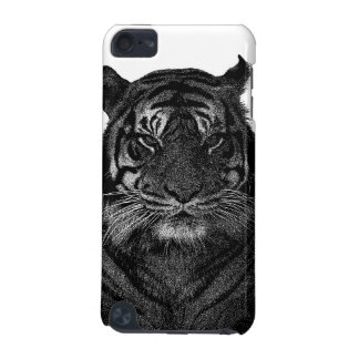 Tiger Endangered Species Wild Cats Black and White iPod Touch (5th Generation) Covers
