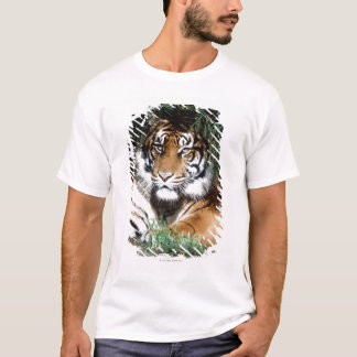 Tiger Enjoying Shade T-Shirt