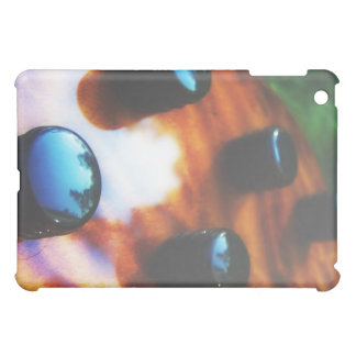 Tiger eye bass pickup knobs close up iPad mini cover
