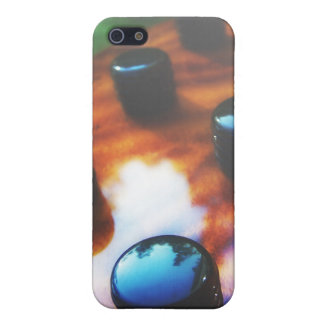 Tiger eye bass pickup knobs close up iPhone 5 cases