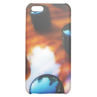 Tiger eye bass pickup knobs close up iPhone 5C covers