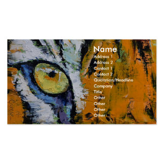 Tiger Eye Business Card Templates
