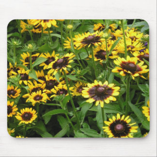 Tiger Eye flower mousepad