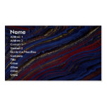 Tiger eye, hematite and jasper Double-Sided standard business cards (Pack of 100)