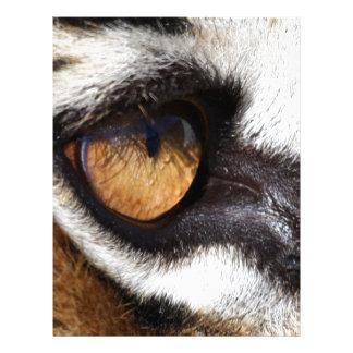 Tiger Eye Custom Letterhead