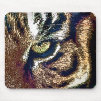 Tiger Eye Mouse Pad