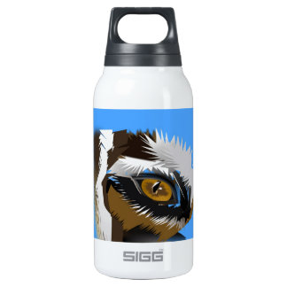 tiger eye search for love insulated water bottle