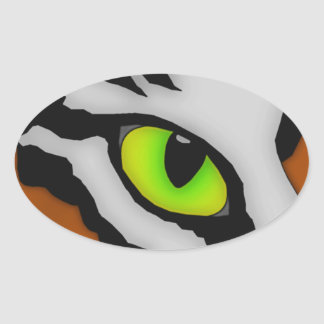Tiger Eye sticker