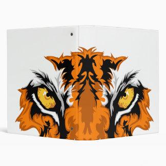 Tiger Eyes 3 Ring Binder