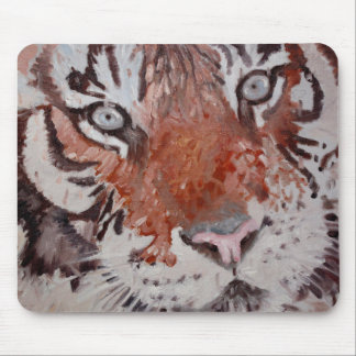 Tiger Eyes. Bengal Tiger. Head only. Mouse Pad
