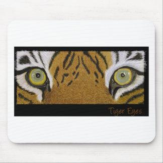 tiger eyes huge mouse pad