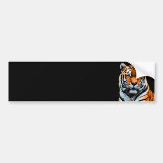 Tiger Eyes Inspirational Bumper Sticker