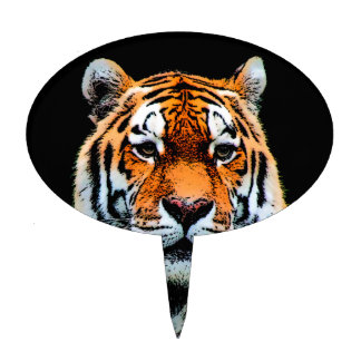 Tiger Eyes Inspirational Cake Topper