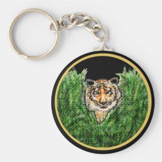 Tiger Eyes key chain