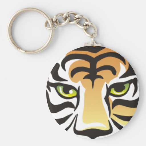 Tiger Eyes Keychain