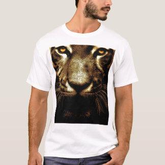 Tiger Eyes Men's Basic White T-Shirt