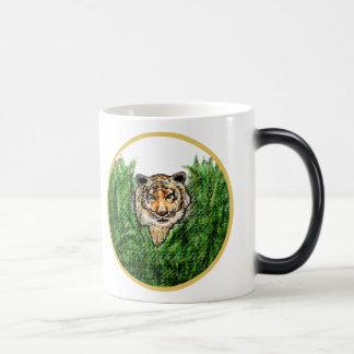 Tiger Eyes morphing mug