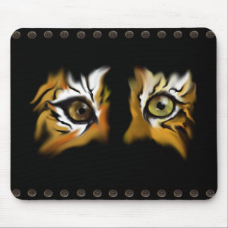 Tiger Eyes Mousepad