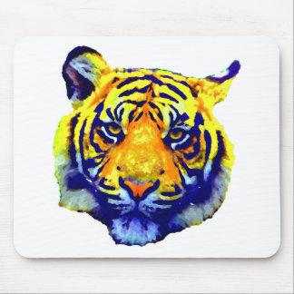 Tiger Eyes Pop Art Mouse Pad