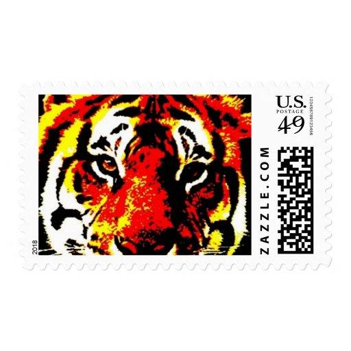 Tiger Head Pop Art Tiger Head Pop Art Tiger Eyes